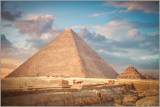 Gallery print  great pyramid of Giza in Egypt