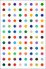 Gallery print  Polkadots in colour - THE USUAL DESIGNERS