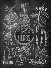 Gallery print  Herbs - Lily & Val