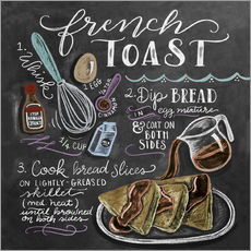 Wall sticker  French toast recipe - Lily & Val