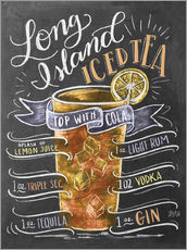 Wall sticker  Long Island Ice Tea recipe - Lily & Val