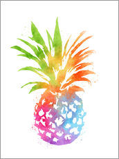 Gallery print  Colorful pineapple - Mod Pop Deco
