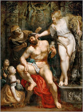 Wall sticker  Hercules and Omphale - Peter Paul Rubens