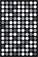 Wall sticker  GREYS BLACK - THE USUAL DESIGNERS