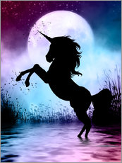 Wall sticker  Unicorn Magic - Dolphins DreamDesign