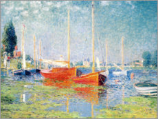 Canvas print  Argenteuil - Claude Monet