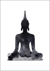 Wall Sticker  Buddha design - Dani Wijeyesinghe