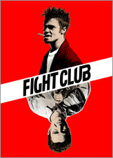 Wall sticker  Fight Club - Paola Morpheus