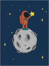 Wall sticker  Read for the stars - Kidz Collection