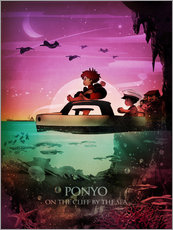 Wall sticker  Ponyo - Albert Cagnef