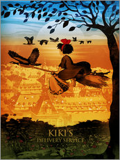 Wall sticker  Kiki's Delivery Service - Albert Cagnef
