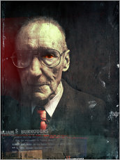 Wall sticker  william s.burroughs - Daniel Matzenbacher