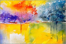 Gallery print  Abstract landscape - Pol Ledent