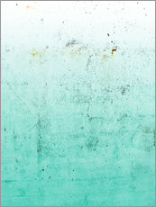 Gallery Print  Sea on concrete - Emanuela Carratoni