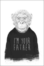 Wall sticker I'm your father