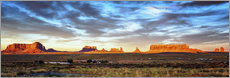 Wall sticker  Monument Valley panorama - Marcus Sielaff