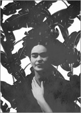 Gallery print  Frida black and white - Mandy Reinmuth
