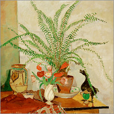 Wall sticker Still life with leaf plant