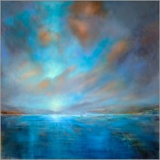 Wall sticker  Blue - Annette Schmucker