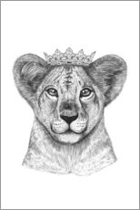 Wall sticker  The lion prince - Valeriya Korenkova