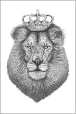 Wall sticker  The King - Valeriya Korenkova