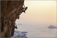 Gallery print  Climber on Kalymnos - Greece