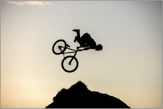 Wall sticker  Extreme Cyclist