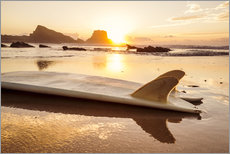 Wall sticker  Surfboards at the beach