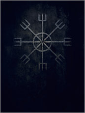 Gallery print  Runes: Ginnir, divine and demonical - Sybille Sterk
