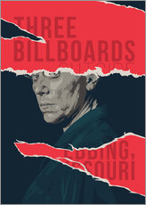 Gallery print  Three billboards outside ebbing missouri - Fourteenlab