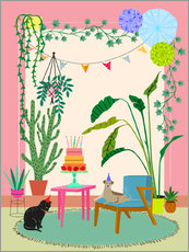 Gallery print  Little Birthday Party - Elisandra Sevenstar