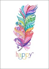 Wall Sticker  Happy - MiaMia