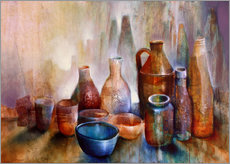 Gallery print  still life with blue bowl - Annette Schmucker