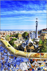 Wall sticker  Park Guell in Barcelona