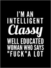 Gallery print  Intelligent, classy, well educated woman - Creative Angel