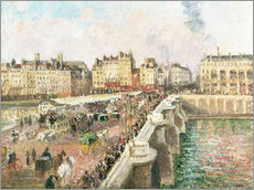 Wall sticker  Le Pont Neuf - Camille Pissarro