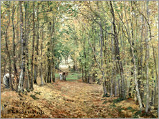 Wall sticker  The forest at Marly - Camille Pissarro