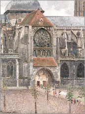 Gallery print  Church of Saint Jacques in Dieppe - Camille Pissarro