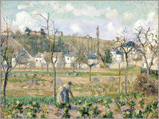 Gallery print  The garden of Maubuisson - Camille Pissarro