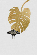 Gallery print  Butterfly & Monstera - Orara Studio