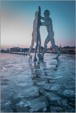 Wall sticker  Iceskating Molecule Man Berlin - Marcus Klepper