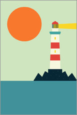 Wall sticker  Lighthouse - Andy Westface