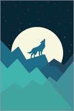 Wall sticker  Keep The Wild In You - Andy Westface