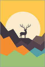 Gallery print  Deer - Andy Westface