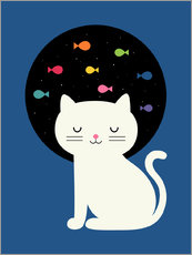 Wall sticker  Cats Fantasy - Andy Westface