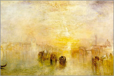 Gallery print  Going to the Ball (San Martino) - Joseph Mallord William Turner