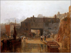 Gallery print  Saltash with the Water Ferry - Joseph Mallord William Turner
