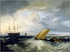 Gallery print  Sheerness as seen from the Nore - Joseph Mallord William Turner