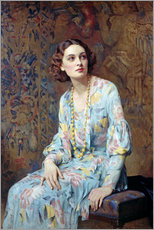 Wall sticker  Portrait of a Lady - Albert Henry Collings