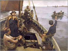 Wall sticker  Off to the Fishing Ground - Stanhope Alexander Forbes